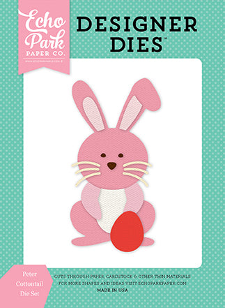 Echo Park Designer Dies - Easter - Peter Cottontail