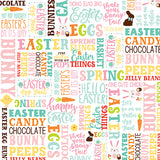 Echo Park Papers - Easter Wishes - Hello Easter - 2 Sheets