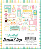 Echo Park Frames & Tags Die-Cuts - Easter Wishes