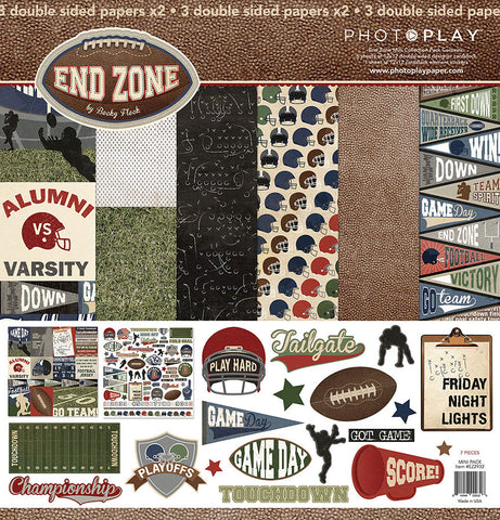 Photo Play Paper Collection Kit - End Zone