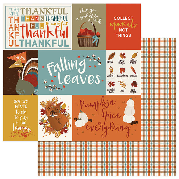 Photo Play Cut-Outs - Fall Breeze - Thankful