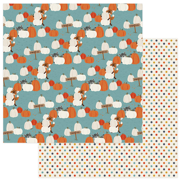Photo Play Papers - Fall Breeze - Pumpkin Patch - 2 Sheets