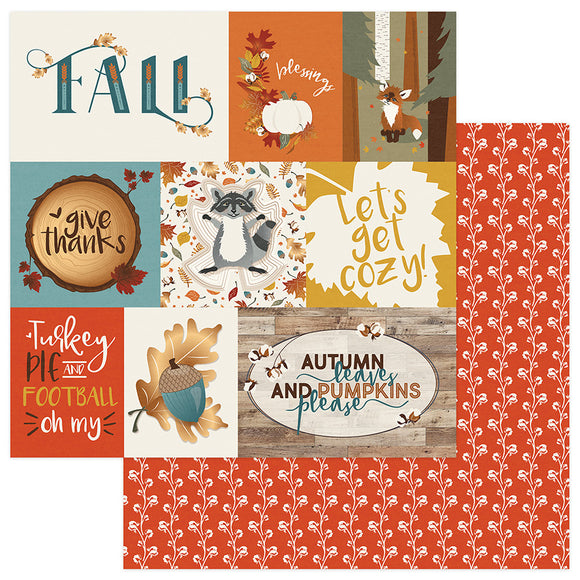 Photo Play Cut-Outs - Fall Breeze - Let's Get Cozy