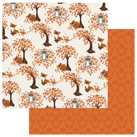 Photo Play Papers - Fall Breeze - Leaf Play - 2 Sheets