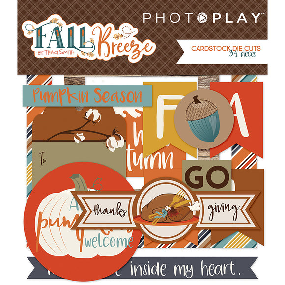 Photo Play Ephemera Die Cuts - Fall Breeze