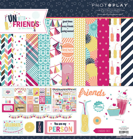 Photo Play Paper Collection Kit - Fun with Friends