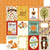 Echo Park Cut-Outs - Fall is in the Air - 3x4 Journaling Cards