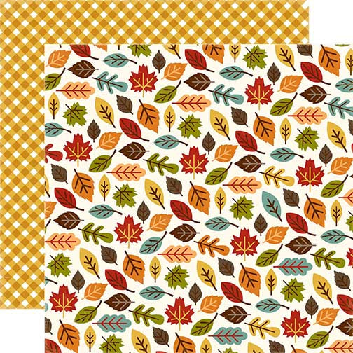Echo Park Papers - Fall is in the Air - Changing Leaves - 2 Sheets