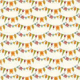 Echo Park Papers - Fall is in the Air - Autumn Bunting - 2 Sheets