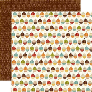 Echo Park Papers - Fall is in the Air - Harvest Acorns - 2 Sheets