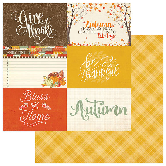 Photo Play Cut-Outs - Falling Leaves - 4x6 Cards