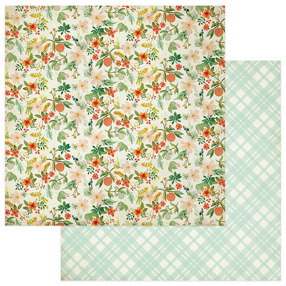Photo Play Papers - Fresh Picked - Garden Fresh - 2 Sheets
