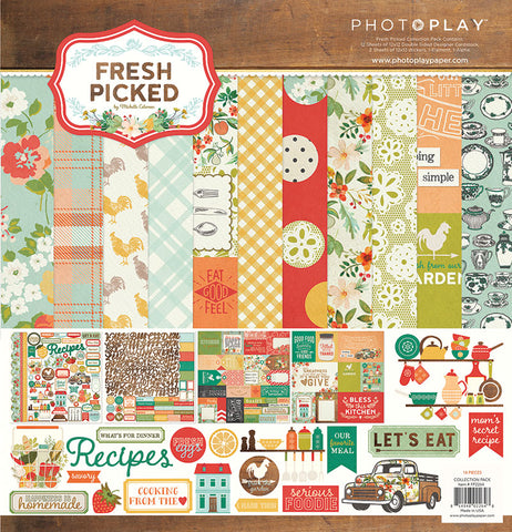 Photo Play Paper Collection Kit - Fresh Picked
