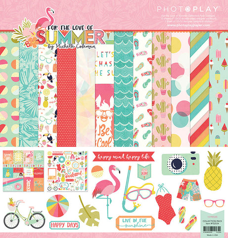Photo Play Paper Collection Kit - For the Love of Summer