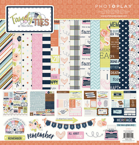 Photo Play Paper Collection Kit - Family Ties