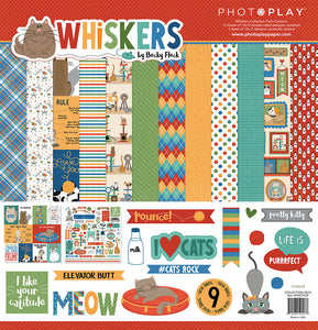 Photo Play Paper Collection Kit - Whiskers - Cat