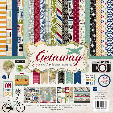 Echo Park Collection Kit - Getaway