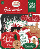 Echo Park Ephemera Die-Cuts - A Gingerbread Christmas