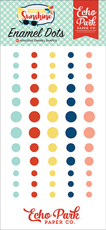 Echo Park Enamel Dots - Good Day Sunshine