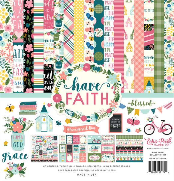 Echo Park Collection Kit - Have Faith