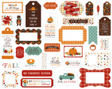 Echo Park Frames & Tags Die-Cuts - Happy Fall