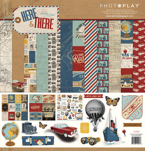 Photo Play Paper Collection Kit - Here & There