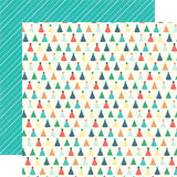 Echo Park Papers - Happy Birthday Boy - Birthday Hats - 2 Sheets