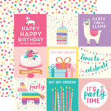 Echo Park Cut-Outs - Happy Birthday - Girl - 4x4 Journaling Cards