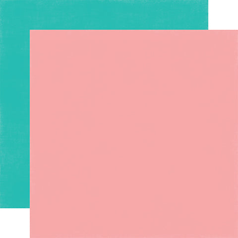 Echo Park Papers - Happy Birthday Girl - Pink/Teal - 2 Sheets