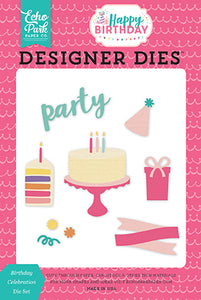 Echo Park Designer Dies - Happy Birthday - Girl - Birthday Celebration Set