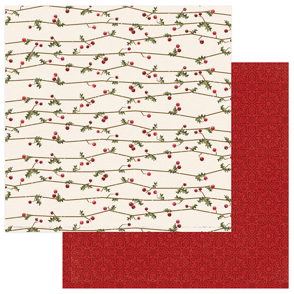 Photo Play Papers - Holiday Cheer - Holly Jolly - 2 Sheets