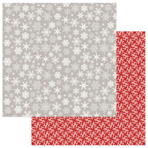 Photo Play Papers - Holiday Cheer - Let It Snow - 2 Sheets