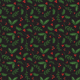 Echo Park Papers - Here Comes Santa Claus - Holly Berries - 2 Sheets