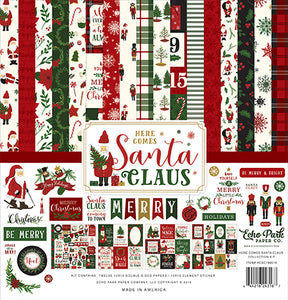 Echo Park Collection Kit - Here Comes Santa Claus