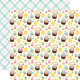 Echo Park Papers - Hello Easter - Easter Baskets - 2 Sheets