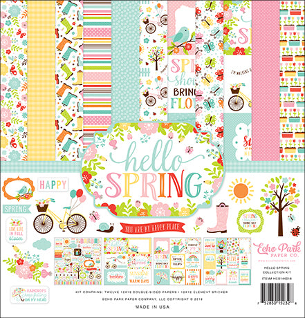 Echo Park Collection Kit - Hello Spring
