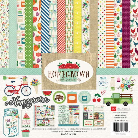 Echo Park Collection Kit - Homegrown