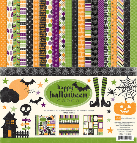 Echo Park Collection Kit - Happy Halloween