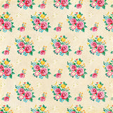 Echo Park Papers - Happiness Is Homemade - Fresh Baked Floral - 2 Sheets