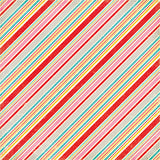 Echo Park Papers - Happiness Is Homemade - Pastry Stripes - 2 Sheets