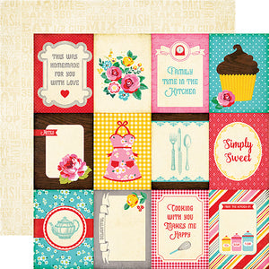 Echo Park Cut-Outs - Happiness Is Homemade - 3x4 Journaling Cards