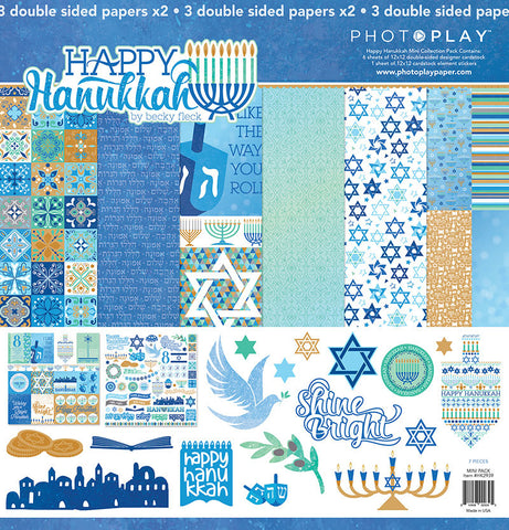 Photo Play Paper Collection Kit - Happy Hanukkah