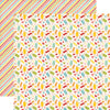 Echo Park Papers - Happy Summer - Sweet Treats - 2 Sheets