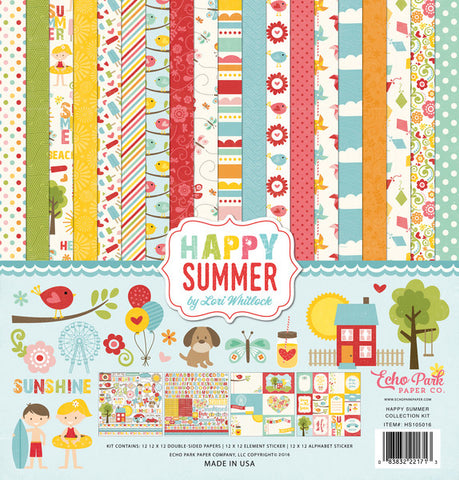 Echo Park Collection Kit - Happy Summer