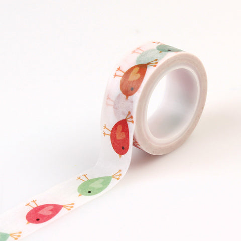 Echo Park Washi Tape - Happy Summer - Birdies
