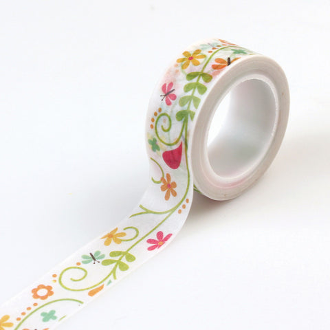Echo Park Washi Tape - Happy Summer - Ivy Floral