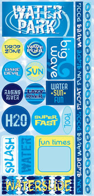 Reminisce Stickers - H2O - Water Park