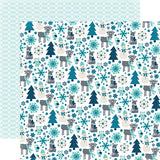 Echo Park Papers - Hello Winter - Snow Friends - 2 Sheets