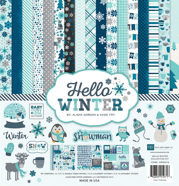 Echo Park Collection Kit - Hello Winter