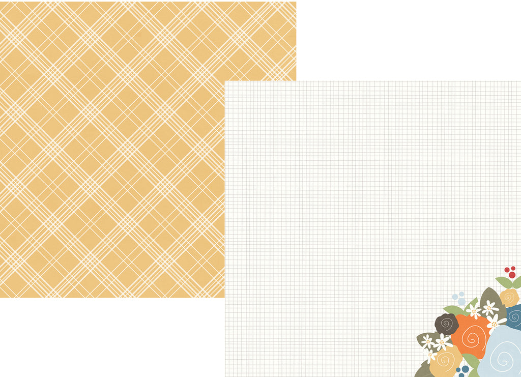 Simple Stories Papers - Hello Fall - Autumn Delight - 2 Sheets